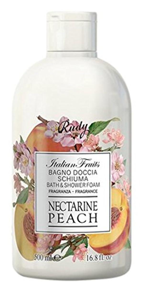 浅い時刻表退却RUDY Italian Fruits Series ルディ イタリアンフルーツ  バス&シャワージェル Nectarine Peach