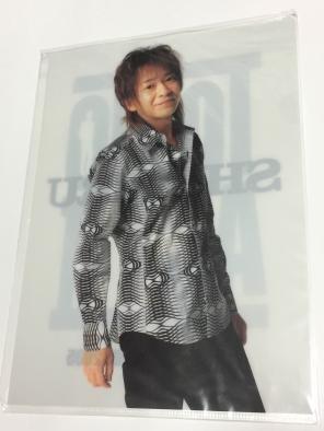 城島茂 A4クリアファイル ★「TOKIO LIVE TOUR 2005 ACT II」ジャニーズグッズ