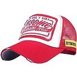 forthery Truckerキャップメッシュ帽子野球キャップ調節可能なストラップスポーツ夏太陽帽子 56cm-60cm/22