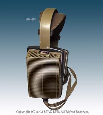 スタックス Signature ヘッドホン イヤースピーカー単品STAX SR-404 SR-404