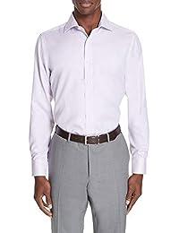 (カナーリ) CANALI メンズ トップス シャツ Regular Fit Solid Dress Shirt [並行輸入品]