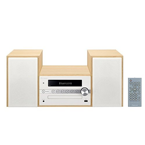 RoomClip商品情報 - パイオニア X-CM56 CDミニコンポ Bluetooth搭載/AM/FM対応 ホワイト X-CM56(W)  【国内正規品】