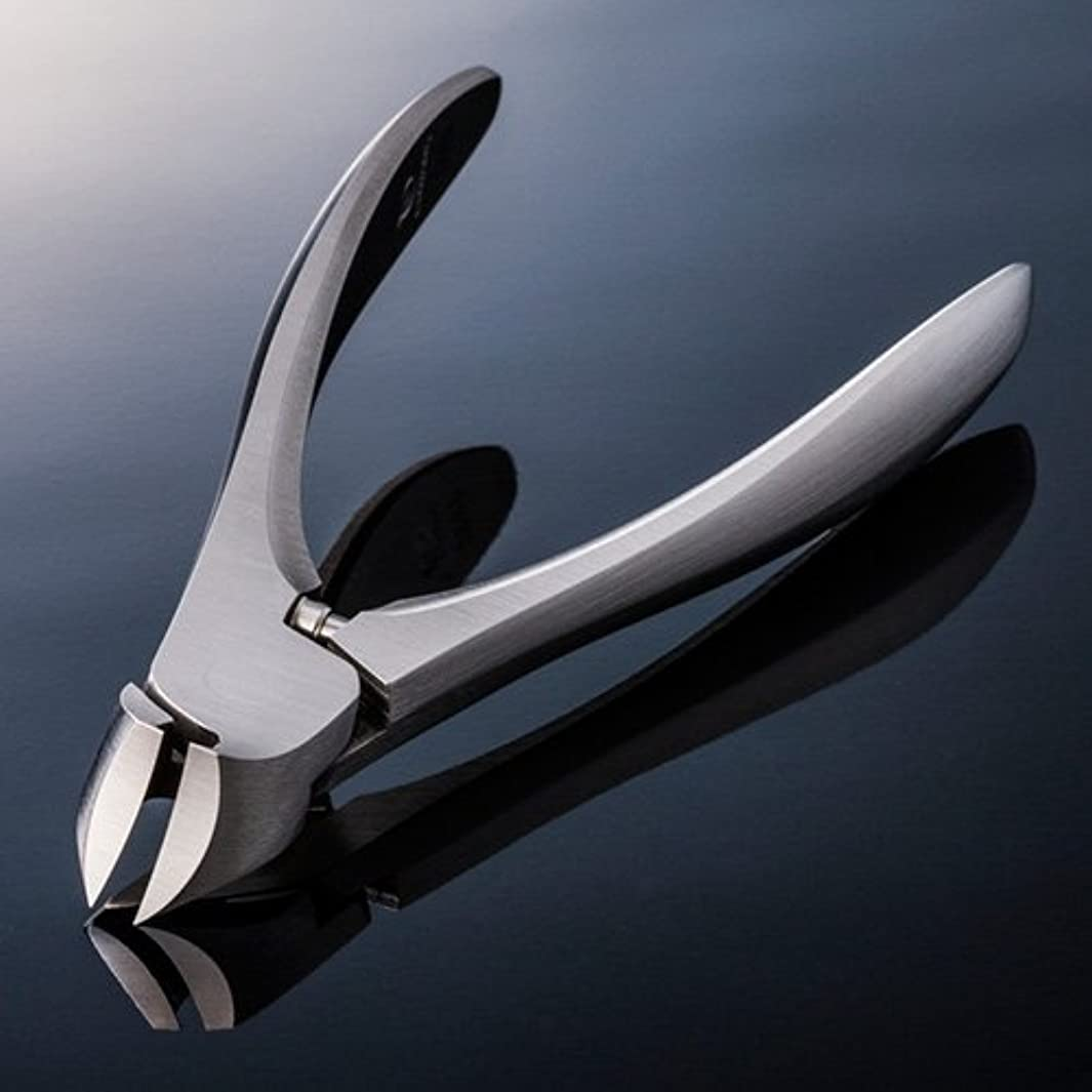 理容師再生テンポ【SUWADA クラシックL 爪やすり付】 諏訪田のつめ切り 爪切り ネイルニッパー 収納メタルケース付 /日本のいいもの