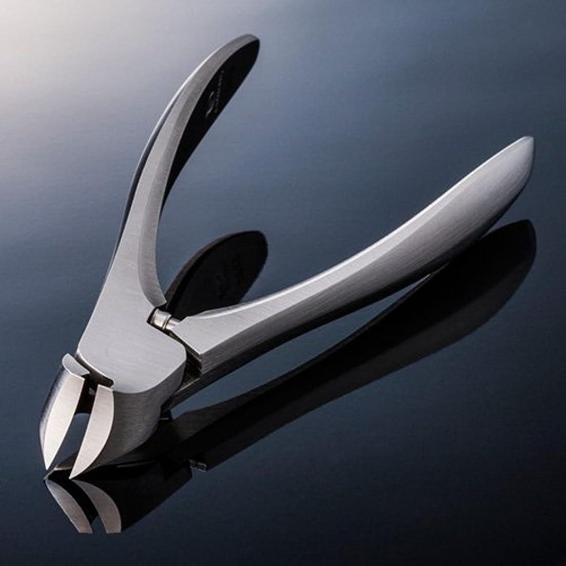 小道裁判官収束【SUWADA クラシックL 爪やすり付】 諏訪田のつめ切り 爪切り ネイルニッパー 収納メタルケース付 /日本のいいもの
