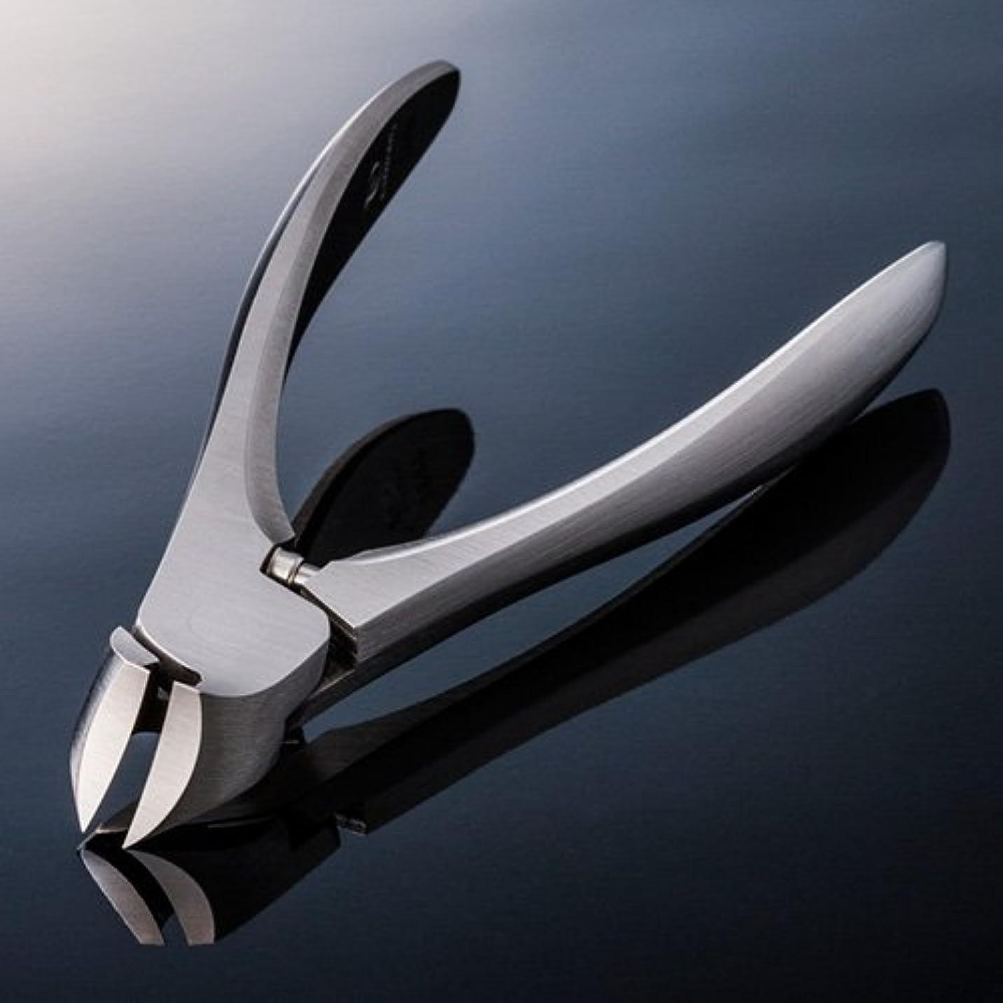 マインドフル放棄宇宙の【SUWADA クラシックL 爪やすり付】 諏訪田のつめ切り 爪切り ネイルニッパー 収納メタルケース付 /日本のいいもの