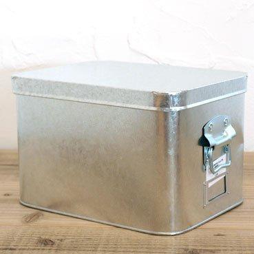 トタン 米びつ 7kg ツールボックス 収納ボックス 日本製 松野屋