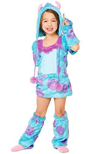 ディズニー モンスターズインク サリー キッズコスチューム 女の子 80cm-100cm