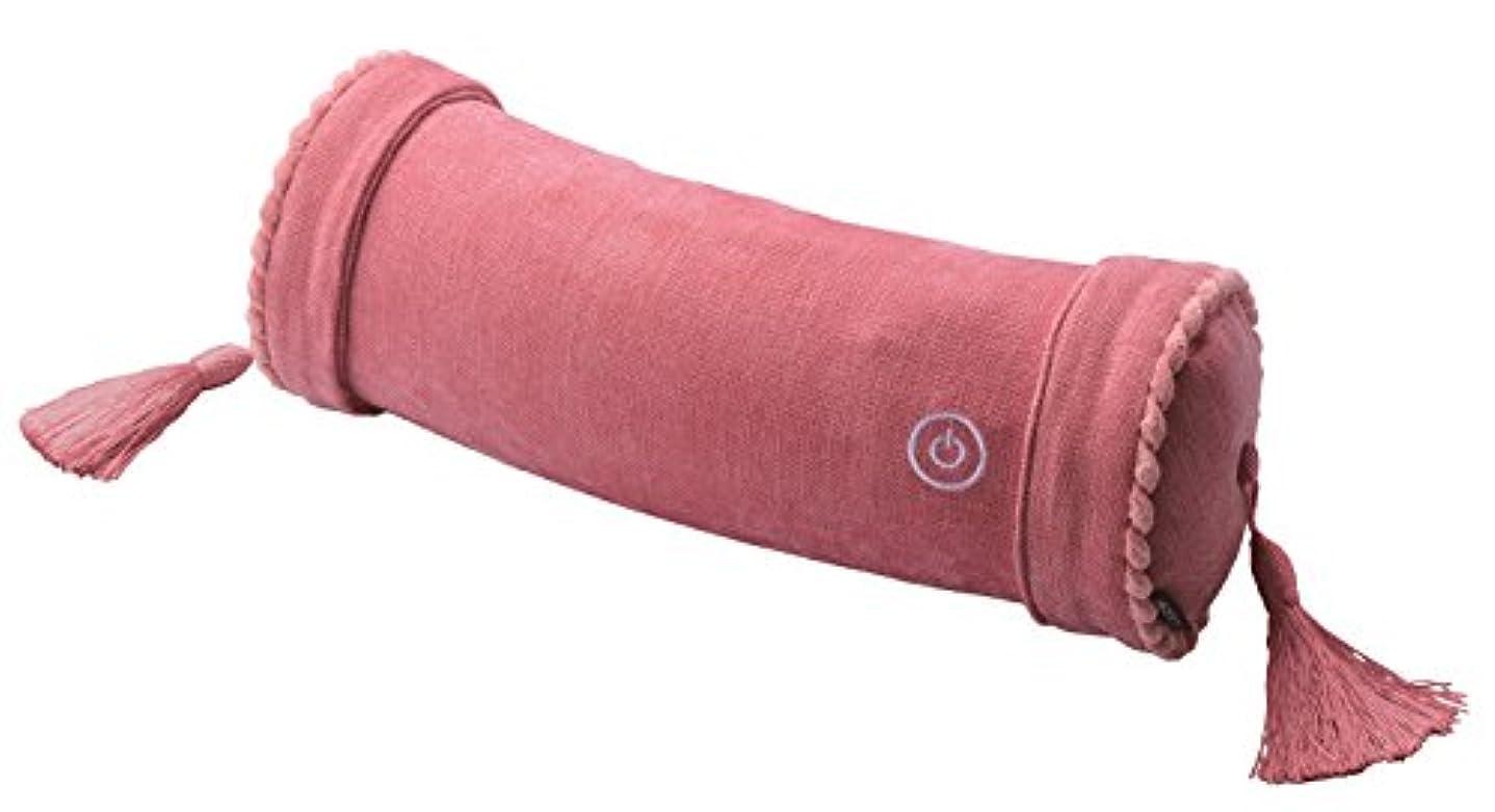 飽和する家畜ご意見アテックス ルルド マッサージロールクッション ピンク AX-HXL186pk