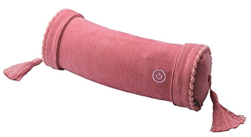 中央祭りクリアアテックス ルルド マッサージロールクッション ピンク AX-HXL186pk