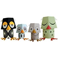 Papertoy Paper Animals - The Wise Guys