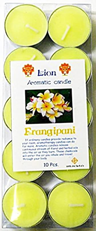 非行証明する香ばしいアロマキャンドル フランジパニ プルメリアキャンドル