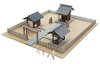 さんけい 1/220 みにちゅあーとプチ 神社 MP01-148 ペーパークラフト