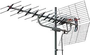 マスプロ電工 家庭用UHFアンテナ 超高性能型 微弱電界地域用 14エレメント LS14TMH