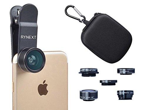 RYNEXT  高画質 スマホレンズ 5点セット クリップ式