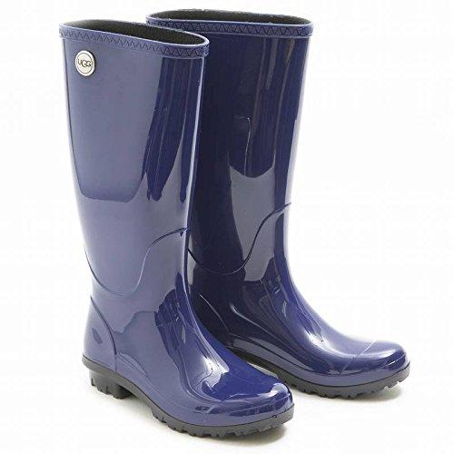 (アグ)UGG SHAYE シェイ レディース長靴 レインブーツ ブルー 青 1012350 US6/23cm [並行輸入品]