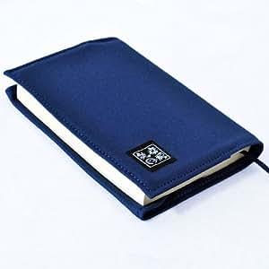 読書好きのあなたに『美月幸房』 ブックカバー 帆布製 文庫サイズ 黒