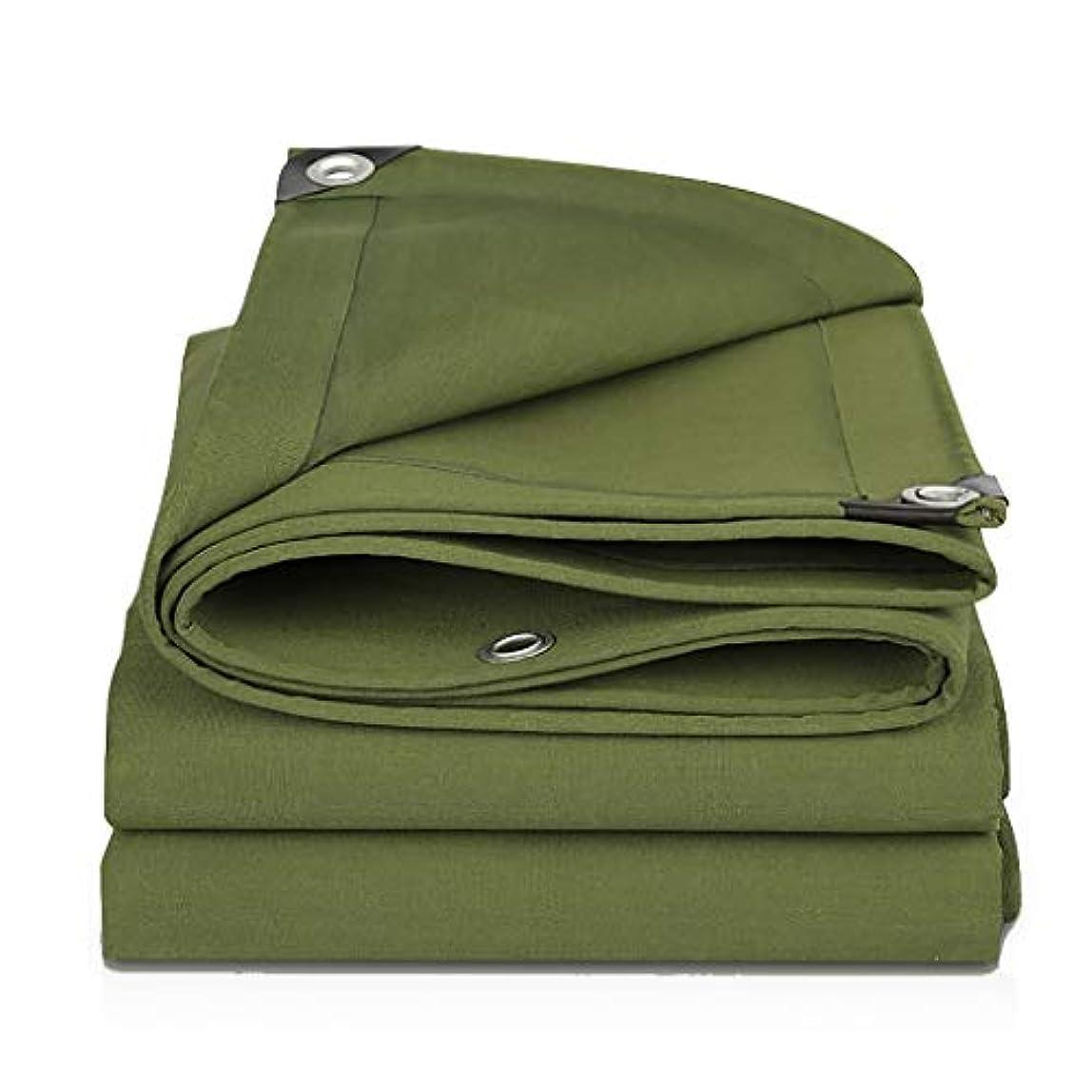 痛い労働者推測タープ グリーンターポリン、グロメット防水キャンバスタープ、引裂抵抗、抗酸化 テント (Color : Green, Size : 5m×6m)