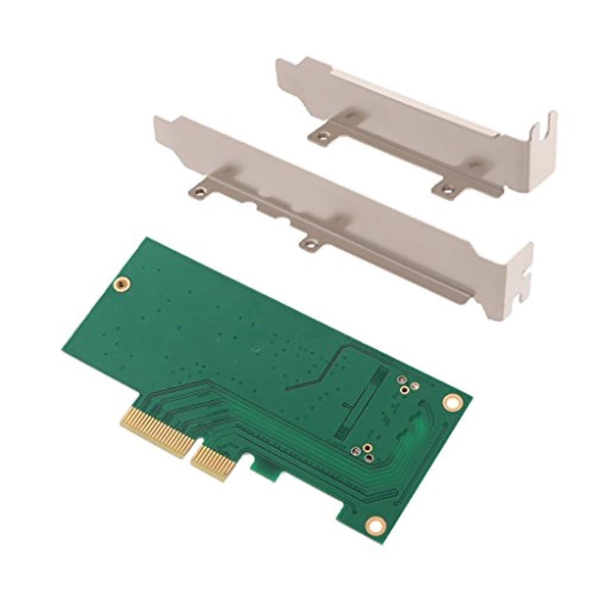 純度口述宗教Perfk Macbookに対応 PCIe SSD コンバータ アダプタ カード コントローラ→デスクトップ