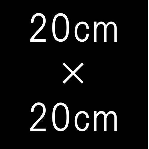 ネック トルソー ベロア 黒 18cm × 18cm