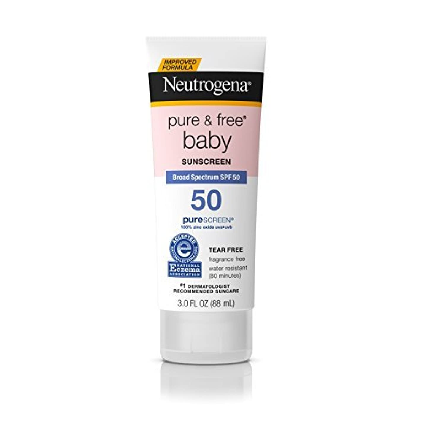 発揮する鑑定間欠Neutrogena Pure & Free Baby Mineral Sunscreen Broad Spectrum SPF 50 3 fl. oz. [並行輸入品]