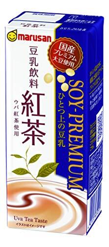 マルサン ひとつ上の豆乳 豆乳飲料 紅茶 200ml ×24本