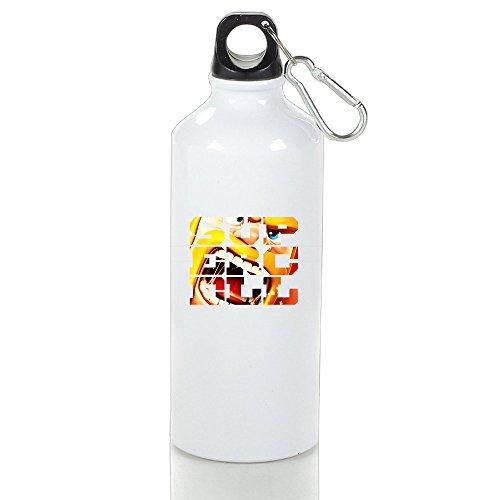 高品質 アルミ クラッシュ オブ クラン ランニングボトル スポーツ ピクニック 直飲み White Size 400ml