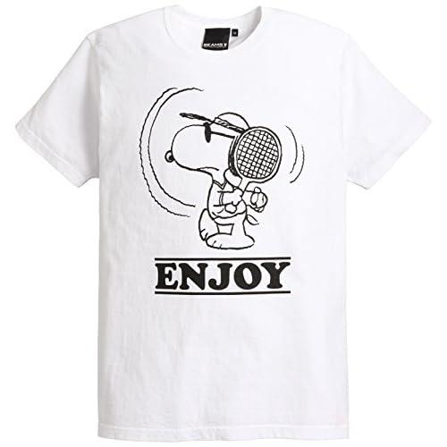 (ビームスティー) BEAMS T PEANUTS×BEAMS T / 別注 スヌーピー Tシャツ 11082476349 1 WHITE S