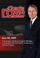 Charlie Rose - Richard Engel/Tom Daschle/Paul Krugman (June 30 2009)【DVD】 [並行輸入品]