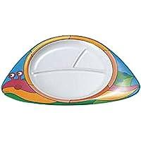 食器 皿 メラミン お子様 ランチ皿 カタツムリ 食洗機対応 国産 日本製