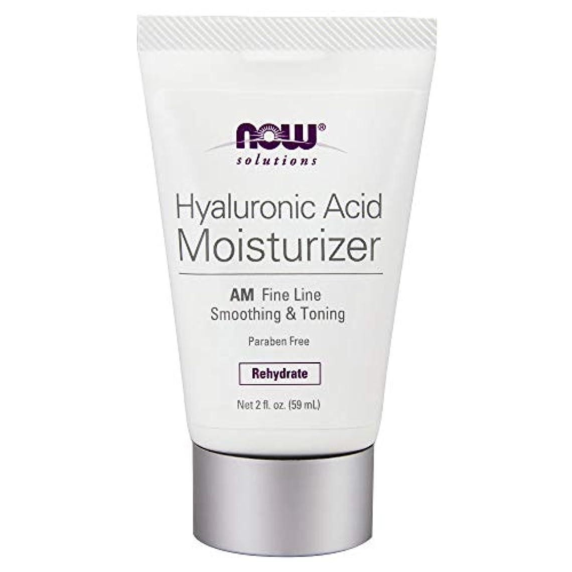 ファンシー仕立て屋昨日海外直送品 Now Foods Hyaluronic Acid Moisturizer, 2 OZ TUBE