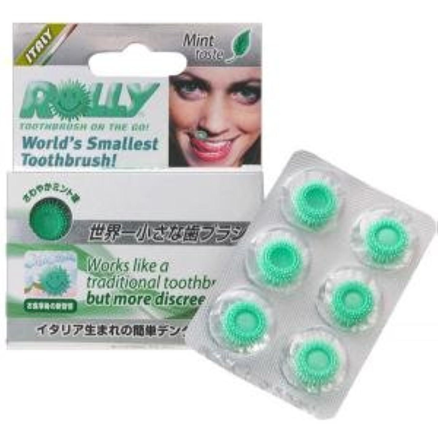 くさび雪の兵器庫使い捨て携帯歯ブラシ ローリーブラッシュ(6個入)×5箱