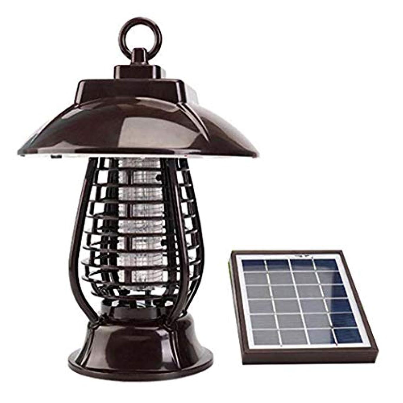 称賛チョークマグソーラーモスキートキラー、充電式ガーデン屋外殺虫ランプ、電子蚊忌避剤モスキートトラップ