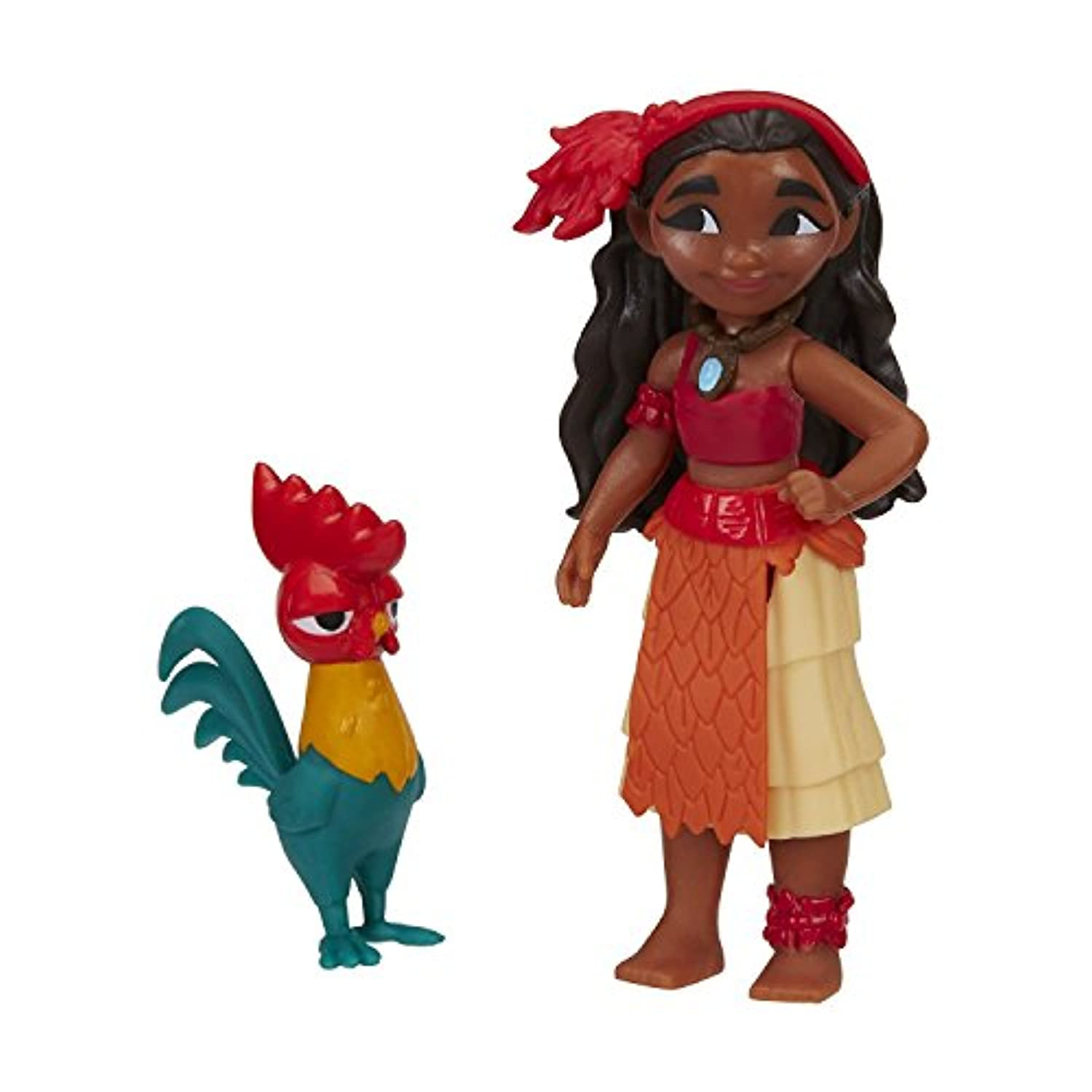 Disney Moana Moana of Oceania and Hei Hei [並行輸入品]