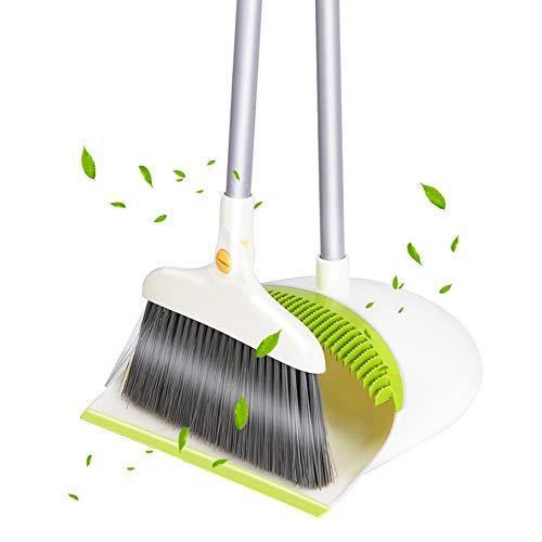 ほうきちりとりセット 屋外 ほうき 室内 ホウキ- Senrokes ほうき 掃除セット,美容室 玄関 屋外 室内ほうき 扫把,broom and dustpan 収納に便利 持ち運びに便利,ほうきちりとりセット室内屋外ほうき
