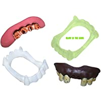 [NES]NES Fake Teeth and Vampire Fangs All 4 Included in Variety Pack ftvf4 [並行輸入品]
