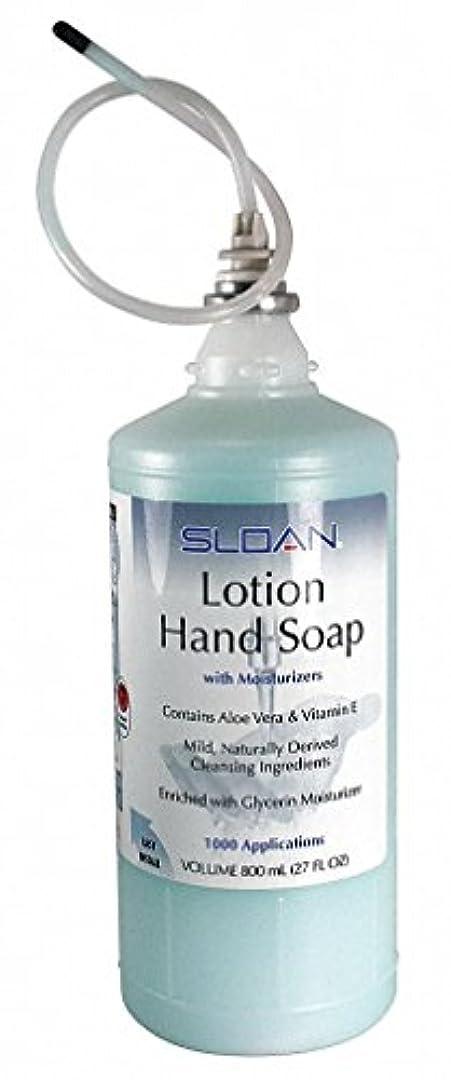 エンジニアリングエステートゲートウェイSloan ESD-217 Lotion Hand Soap Refill 800 ml Bottle (Box of 4)