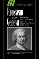 Rousseau and Geneva (Ideas in Context)