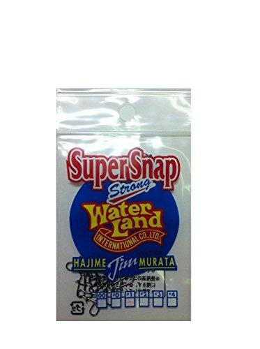 Water Land(ウォーターランド) スーパースナップ ブラック #1