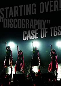 """STARTING OVER! """"DISCOGRAPHY"""" CASE OF TGS(CD+DVD)"""