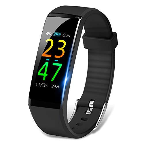 a2bf6cbf75 itDEAL スマートウォッチ 活動量計 血圧計 心拍計 歩数計 スマートブレスレット 多機能