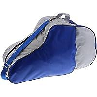 Baoblaze インライン ローラースケーカバー 収納バッグ スケートバッグ 保護ギア(ショルダーロープ付) 全3色選べ - 青
