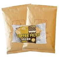 カリタ102コーヒーフィルター 2~4人用 100枚入り ブレンド・No.1/中煎り 1kg 100杯~140杯 [中挽き] コーヒー豆/中入り