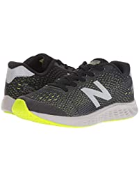 [new balance(ニューバランス)] キッズランニングシューズ??スニーカー?靴 KVARNv1Y (Little Kid/Big Kid) Black/Hi-Lite 2 Little Kid (21cm) M