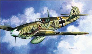 1/72 メッサーシュミット Bf109 F-2