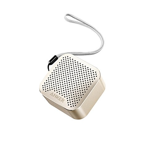 Anker SoundCore nano 超コンパクト Bluetoothスピーカー 【高品質アルミ外装 / 内蔵マイク搭載】(ゴールド)