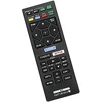 RMT-VB100U RMTVB100U 交換用赤外線リモートコントロール 適合機種: ソニー Blu-Ray DVD プレーヤー BDPBX150 1-492-954-11 BDP-BX150 BDPBX350 BDP-BX350 BDPBX550 BDP-BX550 BDPBX650 BDP-BX650 BDPS1500 BDP-S1500 BDPS2500