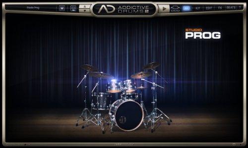 XLN AUDIO Addictive Drums 2 Studio PROG ADPak
