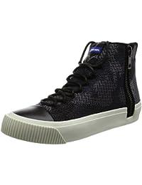 (ディーゼル) DIESEL ZIP-TURF S-QUEST KNIT - sneaker mid Y01540P1398