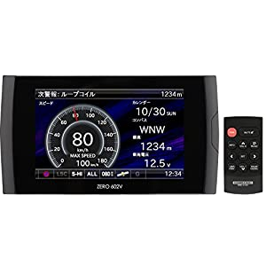 コムテック レーダー探知機 ZERO 602V 無料データ更新 移動式オービス/小型オービス/ゾーン30対応 OBD2接続 GPS メーター機能