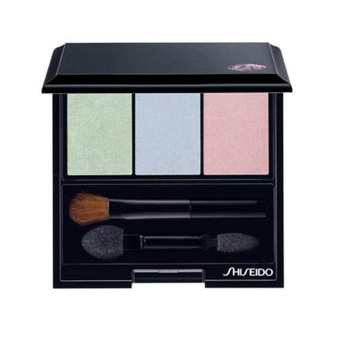 頬骨規制セント資生堂 ルミナイジング サテン アイカラー トリオ BL215(Shiseido Luminizing Satin Eye Color Trio BL215) [並行輸入品]